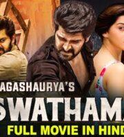 Aswathama 2021 Hindi Dubbed 720p HDRip 850mb