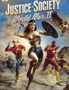 Justice Society World War II 2021 HDRip 300MB 480p Full English Movie Download