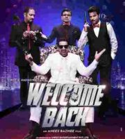 Welcome Back 2015 Hindi DVDScr 600MB