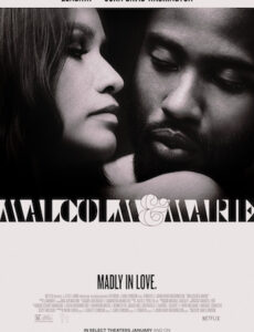 Malcolm and Marie 2021 English 720p WEB-DL 800MB ESubs