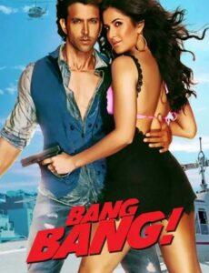 Bang Bang 2014 HDRip 450MB 480p Full Hindi Movie Download